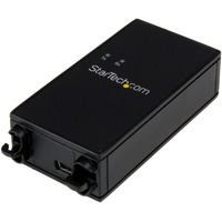 StarTech.com 1 Port Industrial USB to RS232 Serial Adapter with 5KV Isolation and 15KV ESD Protection - 1 x Type B Female Mini USB - 1 x DB-9 Male Serial - Black