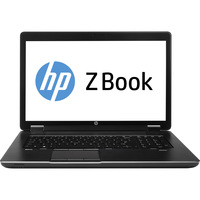 "HP ZBook 17 43.9 cm (17.3"") LED Notebook - Intel Core i7 i7-4700MQ 2.40 GHz - Graphite"