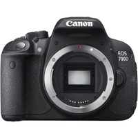 Canon EOS 700D 18 Megapixel Digital SLR Camera Body Only - Black