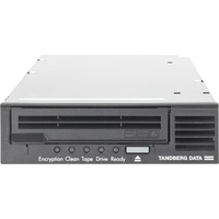 Tandberg Data LTO-6 Tape Drive - 2.50 TB (Native)/6.25 TB (Compressed) - Black - 3 Year Warranty - Fibre Channel - 1/2H Height - External - 160 MB/s Native - 400 MB/