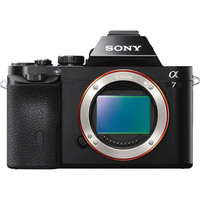 Sony alpha 7 24.3 Megapixel Mirrorless Camera Body Only (Body Only)