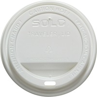 Solo Traveler Hot Cup Dome Drink Lid SCC160007