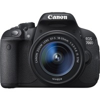 Canon EOS 700D 18 Megapixel Digital SLR Camera with Lens (Body with Lens Kit) - 18 mm - 55 mm (Lens 1), 55 mm - 250 mm (Lens 2)