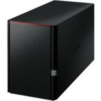 Buffalo LinkStation 220 2 x Total Bays NAS Server - External - Marvell ARMADA 370800 MHz - 4 TB HDD (2 x 2 TB) - 256 MB RAM DDR3 SDRAM - Serial ATA/300 - RAID Suppor