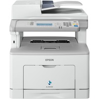 Epson WorkForce AL-MX300DN Laser Multifunction Printer - Monochrome - Plain Paper Print - Desktop