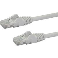 StarTech.com 2m White Gigabit Snagless RJ45 UTP Cat6 Patch Cable - 2 m Patch Cord - 1 x RJ-45 Male Network - 1 x RJ-45 Male Network - Patch Cable - Gold Plated - Whi