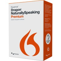 Nuance Dragon NaturallySpeaking v.13.0 Premium Mobile Edition With Voice Recorder - 1 User - Voice Recognition - Box - DVD-ROM - PC - English