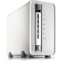 "QNAP Turbo NAS TS-212P 2 x Total Bays NAS Server - Portable - Marvell 62821.60 GHz - 512 MB RAM DDR3 SDRAM - Serial ATA/300 - RAID Supported 0, 1, JBOD - 2 x 3.5"" Ba"