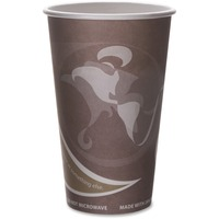 Eco-Products Evolution World Pcf Hot Cups ECOEPBRHC16EWPK