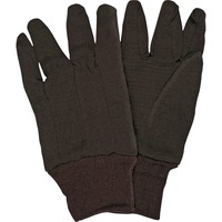 MCR Safety General Purpose Brown Jersey Gloves MCSCRW7100D