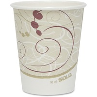 Solo Cup Poly Lined Hot Paper Cups SCC370SMJ8000