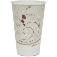 Solo 12oz Waxed Paper Cups SCCR12NJ8000