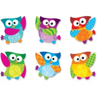 Trend Owl-Stars Classic Accents Variety Pack TEP10996