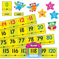 Trend Owl-Stars Coll. -20 To 120 Board Number Line TEP8299