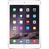 "Apple iPad mini 3 MGYK2B/A 128 GB Tablet - 20.1 cm (7.9"") - Retina Display, In-plane Switching (IPS) Technology - Wireless LAN - Apple A7 - Gold"