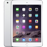 "Apple iPad mini 3 MH382B/A 64 GB Tablet - 20.1 cm (7.9"") - Retina Display, In-plane Switching (IPS) Technology - Wireless LAN - Apple - 4G - Apple A7 - Silver"