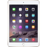 "Apple iPad mini 3 MH3N2B/A 128 GB Tablet - 20.1 cm (7.9"") - Retina Display, In-plane Switching (IPS) Technology - Wireless LAN - Apple - 4G - Apple A7 - Gold"
