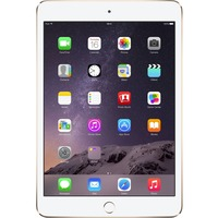 "Apple iPad mini 3 MH392B/A 64 GB Tablet - 20.1 cm (7.9"") - Retina Display, In-plane Switching (IPS) Technology - Wireless LAN - Apple - 4G - Apple A7 - Gold"