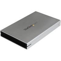 "StarTech.com eSATAp / eSATA or USB 3.0 External 2.5in SATA III 6 Gbps Hard Drive Enclosure with UASP - Portable HDD / SDD - 1 x Total Bay - 1 x 2.5"" Bay - Serial ATA"
