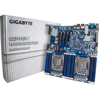 Gigabyte MD60-SC0 Server Motherboard - Intel C612 Chipset - Socket LGA 2011-v3 - Extended ATX - 2 x Processor Support - 64 GB DDR4 SDRAM Maximum RAM - 2.13 GHz Memor