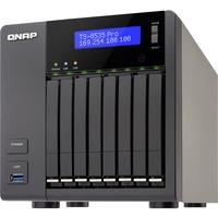 QNAP Turbo NAS TS-853S Pro 8 x Total Bays NAS Server - Tower - Intel Celeron Quad-core (4 Core) 2 GHz - 4 GB RAM DDR3L SDRAM - Serial ATA/600 - RAID Supported 0, 1,