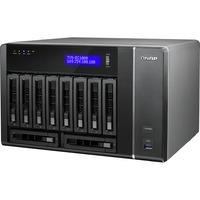 QNAP TVS-EC1080-E3-8G 10 x Total Bays NAS Server - Tower - Intel Xeon E3-1245 v3 Quad-core (4 Core) 3.40 GHz - 8 GB RAM DDR3 SDRAM - Serial ATA/600 - RAID Supported