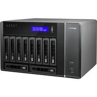 QNAP TVS-EC1080+-E3-32G 10 x Total Bays NAS Server - Tower - Intel Xeon E3-1245 v3 Quad-core (4 Core) 3.40 GHz - 8 GB RAM DDR3 SDRAM - Serial ATA/600 - RAID Supporte