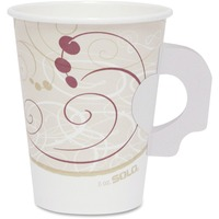Solo Poly Lined Hot Paper Cups SCC378HSMSYMCT