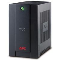 APC Back-UPS Line-interactive UPS - 700 VA/390 WTower - 6 Hour - 230 V AC - 230 V AC - 4 x IEC 60320 C13