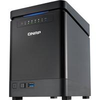 QNAP Turbo NAS TS-453mini 4 x Total Bays NAS Server - Desktop - Intel Celeron Quad-core (4 Core) 2 GHz - 8 GB RAM DDR3L SDRAM - Serial ATA/600 - RAID Supported 0, 1,
