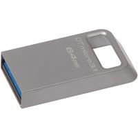Kingston DataTraveler Micro 3.1 64 GB USB 3.1 Flash Drive - Grey