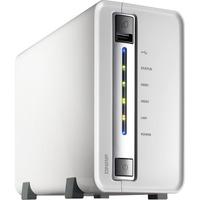QNAP Turbo NAS TS-212P 2 x Total Bays NAS Server - Portable - Marvell 62821.60 GHz - 2 TB HDD - 512 MB RAM DDR3 SDRAM - Serial ATA/300 - RAID Supported 0, 1, JBOD -