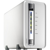 QNAP Turbo NAS TS-212P 2 x Total Bays NAS Server - Portable - Marvell 62821.60 GHz - 4 TB HDD - 512 MB RAM DDR3 SDRAM - Serial ATA/300 - RAID Supported 0, 1, JBOD -