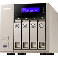 QNAP Turbo vNAS TVS-463 4 x Total Bays NAS Server - Tower - AMD Quad-core (4 Core) 2.40 GHz - 24 TB HDD - 4 GB RAM DDR3 SDRAM - Serial ATA/600 - RAID Supported 0, 1,