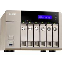 QNAP Turbo vNAS TVS-663 6 x Total Bays NAS Server - Tower - AMD Quad-core (4 Core) 2.40 GHz - 18 TB HDD - 4 GB RAM DDR3L SDRAM - Serial ATA/600 - RAID Supported 0, 1