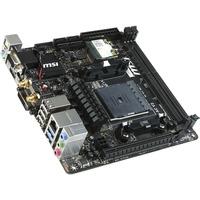 MSI A88XI AC V2 Desktop Motherboard - AMD A88X Chipset - Socket FM2+ - Mini ITX - 1 x Processor Support - 32 GB DDR3 SDRAM Maximum RAM - 2.13 GHz Memory Speed Suppor