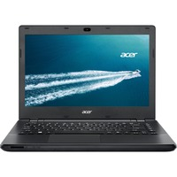 "Acer TravelMate P246-M TMP246-M-50JL 35.6 cm (14"") LED (ComfyView) Notebook - Intel Core i5 i5-5200U Dual-core (2 Core) 2.20 GHz - Black - 4 GB DDR3L SDRAM RAM - 500"