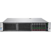 HP ProLiant DL380 G9 2U Rack Server - 1 x Intel Xeon E5-2620 v3 Hexa-core (6 Core) 2.40 GHz - 2 Processor Support - 16 GB Standard DDR4 SDRAM Maximum RAM - 12Gb/s SA
