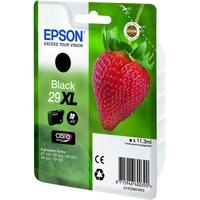 Epson Claria 29XL Ink Cartridge - Black - Inkjet - 470 Page - 1 / Pack