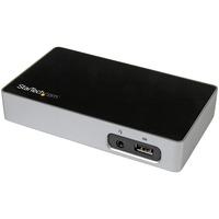 StarTech.com 4K DisplayPort Docking Station for Laptops - USB 3.0 - Universal Laptop Docking Station - 4K DP Laptop Dock for Hot Desks - 4 x USB Ports - 4 x USB 3.0