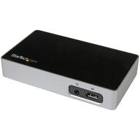 StarTech.com DVI Docking Station for Laptops - USB 3.0 - Universal Laptop Docking Station - DVI Laptop Dock for Hot Desks - 4 x USB Ports - 4 x USB 3.0 - Network (RJ