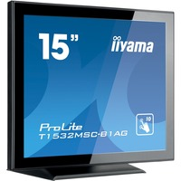 "Iiyama ProLite T1532MSC-B1AG - LED monitor - 15"" - touchscreen Black"