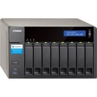 QNAP Turbo vNAS TVS-871T 8 x Total Bays SAN/NAS/DAS Server - Tower - Intel Core i7 i7-4790S Quad-core (4 Core) 3.20 GHz - 16 GB RAM DDR3 SDRAM - Serial ATA/600 - RAI