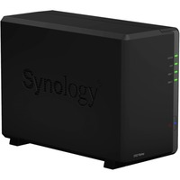 Synology DiskStation DS216play 2 x Total Bays NAS Server - Desktop - STMicroelectronics STiH412 Dual-core (2 Core) 1.50 GHz - 1 GB RAM DDR3 SDRAM - Serial ATA/600 -