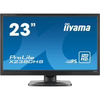 "Iiyama ProLite X2380HS-B1 23"" IPS LED monitor"