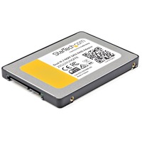 StarTech.com Dual M.2 NGFF SATA Adapter with RAID - 2x M.2 SSDs to 2.5in SATA (6Gbps) RAID Adapter Converter with TRIM Support - Serial ATA/600 Controller - M.2 - SA