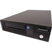 Quantum LTO-7 Tape Drive - 6 TB (Native)/15 TB (Compressed) - Black - 6Gb/s SAS - 133.35 mm Width - 1/2H Height - Internal - 300 MB/s Native - 750 MB/s Compressed -
