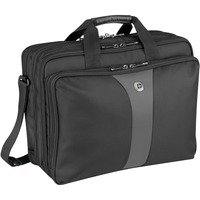 "Wenger LEGACY Carrying Case for 43.2 cm (17"") Notebook - Black, Grey - Checkpoint Friendly - Shoulder Strap, Hand Grip"