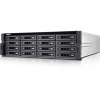 QNAP Turbo NAS TS-EC1680U-I3-8G-R2 16 x Total Bays SAN/NAS Server - 3U - Rack-mountable - Intel Xeon Quad-core (4 Core) - 8 GB RAM DDR3 SDRAM - Serial ATA/600 - RAID