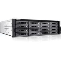 QNAP Turbo NAS TS-EC1680U-E3-4GE-R2 16 x Total Bays SAN/NAS Server - 3U - Rack-mountable - Intel Xeon Quad-core (4 Core) - 4 GB RAM DDR3 SDRAM - Serial ATA/600 - RAI